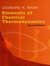 Elements Of Chemical Thermodynamics