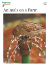BeginningReads 9-1 Animals On A Farm