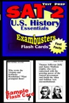 SAT 2 US History Test Prep Review--Exambusters Flash Cards