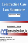 Construction Case Law Summaries December 2013