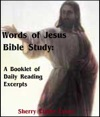 Words Of Jesus Bible Study Booklet Of Daily Reading Excerpts