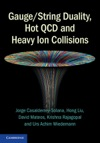 GaugeString Duality Hot QCD And Heavy Ion Collisions