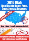2016 Utah Real Estate Exam Prep Questions And Answers