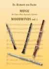 Dr Richard Von Fuchs Music For Flute Oboe Bassoon Clarinet Woodwinds Vol 1