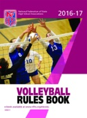 2016-17 NFHS Volleyball Rules Book - NFHS Cover Art
