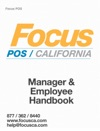 Focus POS Manager  Employee Handbook