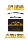 Just Married  How To Change My Name After Marriage In Australia