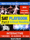 SAT Playbook Part 2 Critical Reading 2016 Performing Artists Edition