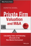 Private Firm Valuation And MA