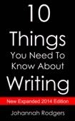Similar eBook: 10 Things You Need to Know About Writing