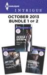 Harlequin Intrigue October 2013 - Bundle 1 Of 2