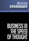 Summary Business  The Speed Of Thought - Bill Gates
