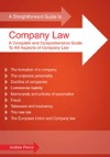 A Straightforward Guide To Company Law