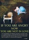 If You Are Angry Now You Are Not In Love