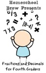 Fractions And Decimals For Fourth Graders