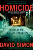 Homicide - David Simon Cover Art