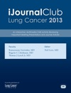 IJournal Club Lung Cancer 2013