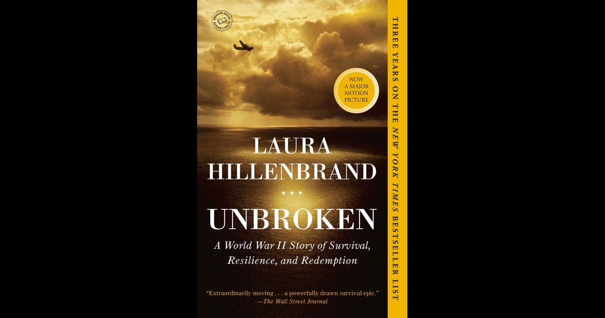 Survivors  Seabiscuit author Laura Hillenbrand has a book out Tuesday  Unbroken  the story