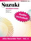 Suzuki Recorder School - Volume 4