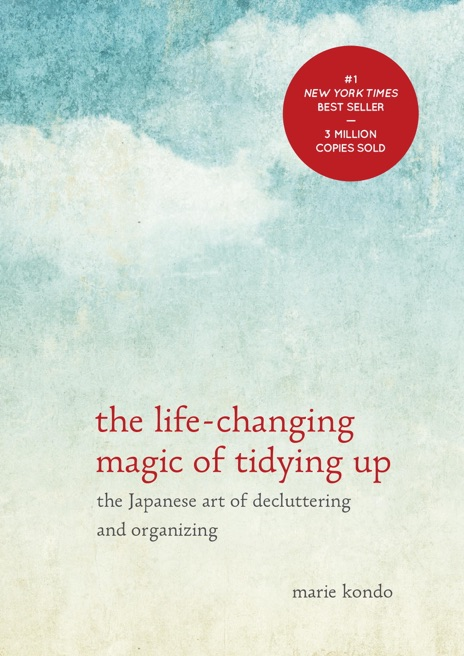 The Life-Changing Magic of Tidying Up Marie Kondo Book