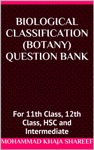 Biological Classification Botany Question Bank