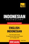 Indonesian Vocabulary For English Speakers 9000 Words