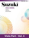 Suzuki Viola School - Volume 4