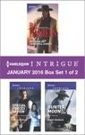 Harlequin Intrigue January 2016 - Box Set 1 Of 2