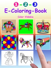 1-2-3 E-Coloring-Book by Color Vidobia on iBooks