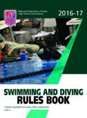 2016-17 NFHS Swimming and Diving Rules Book - NFHS Cover Art