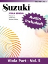 Suzuki Viola School - Volume 5 Revised