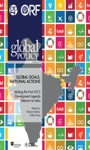 Global Goals National Actions Making The Post-2015 Development Agenda Relevant To India