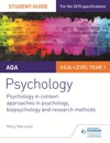 AQA Psychology Student Guide 2 Psychology In Context Approaches In Psychology Biopsychology And Research Methods