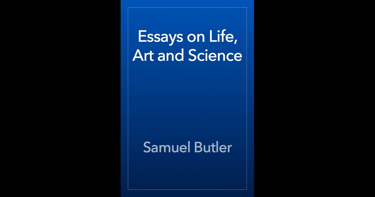 essay about art and life