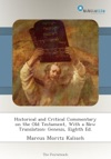 Historical And Critical Commentary On The Old Testament With A New Translation Genesis Eighth Ed