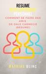 Dveloppement Personnel  Comment Se Faire Des Amis De Dale Carnegie Resume