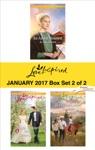 Harlequin Love Inspired January 2017-Box Set 2 Of 2