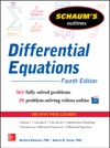 Schaums Outline Of Differential Equations 4th Edition
