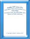 Psalm 119 Verse 151 Piano Sheet  Music-Intermediate Level With Solfege