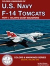 Colors  Markings Of U S Navy F-14 Tomcats Part 1  Atlantic Coast Squadrons