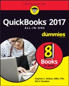 QuickBooks 2017 All-in-One for Dummies - Stephen L. Nelson Cover Art