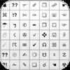 Simbolos teclado - Adiciona símbolos, Emoji e teclado ascii