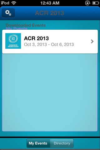 Screenshot of Association of Consumer Research Conference 2013