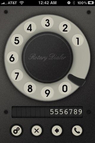 Rotary Dialer Screenshot 3