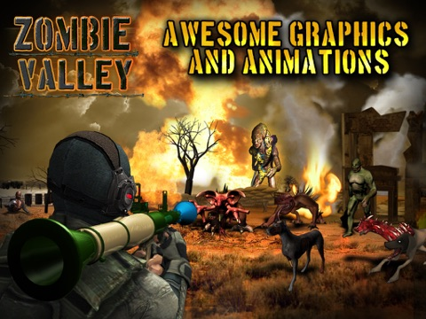 Zombie Valley HD screenshot 1