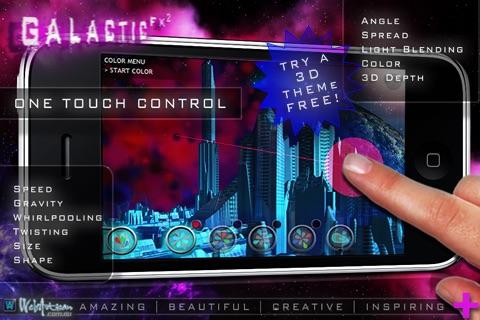 Galactic FX ² FREE : Art with Light screenshot 2
