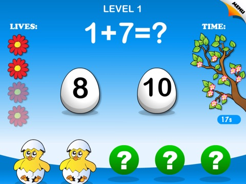 Abby Monkey: Spring Math - Math Games Free screenshot 4