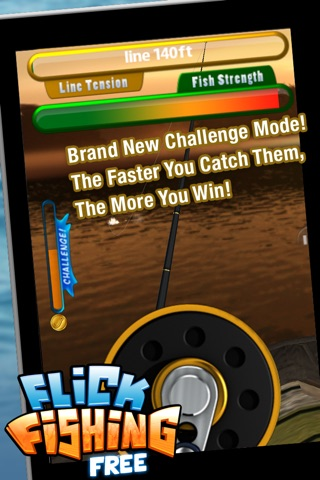 Screenshots of Flick Fishing FREE for iPhone