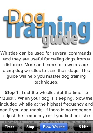 Dog Whistle Elite (Training Guide + Clicker included) screenshot 2