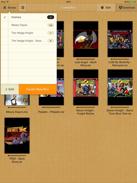 ComicBox for iPad by Xseed Solutions Sdn Bhd